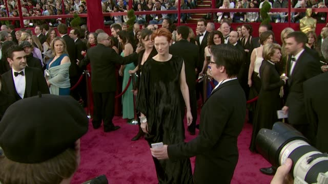 Tilda Swinton at the 2008 Academy Awards at the Kodak Theatre in Hollywood California on February 24 2008