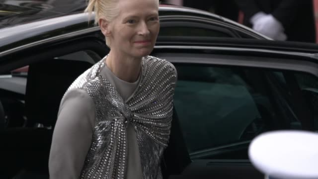 Tilda Swinton at The 72nd Cannes Film Festival on May 14 2019 in Cannes France