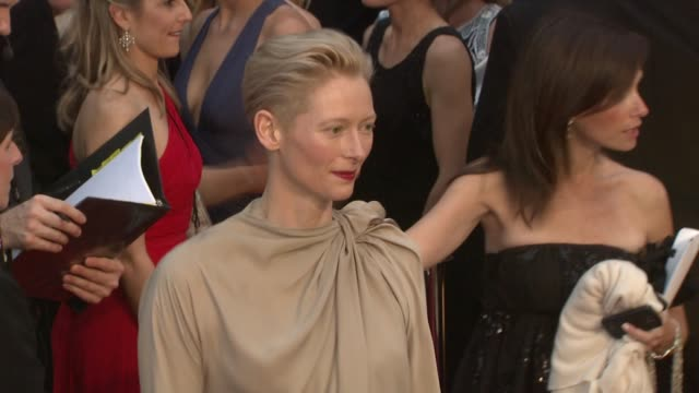Tilda Swinton at the 81st Academy Awards Arrivals at Los Angeles CA