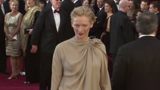 Tilda Swinton at the 81st Academy Awards Arrivals Part 3 at Los Angeles CA
