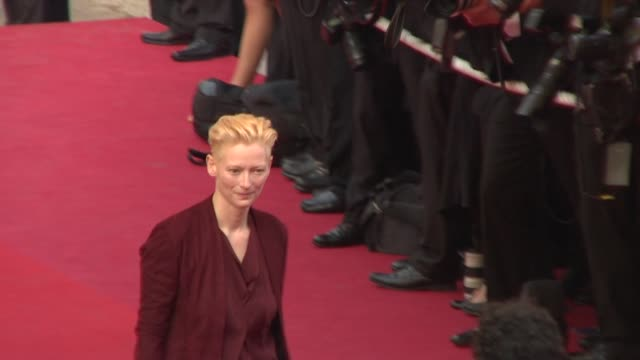Tilda Swinton at the Cannes Film Festival 2009 Opening Night/Up Steps at Cannes