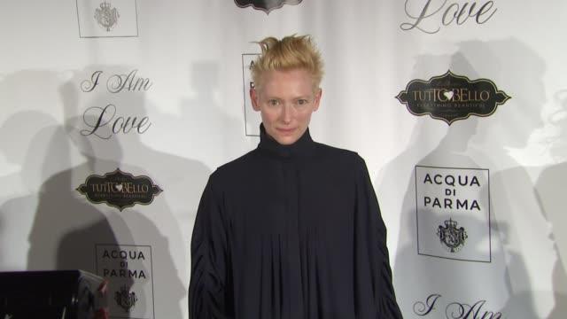 Tilda Swinton at the 'I Am Love' New York Premiere at New York NY