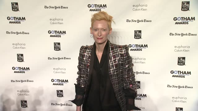 Tilda Swinton at the IFP's 21st Annual Gotham Independent Film Awards Red Carpet at New York NY