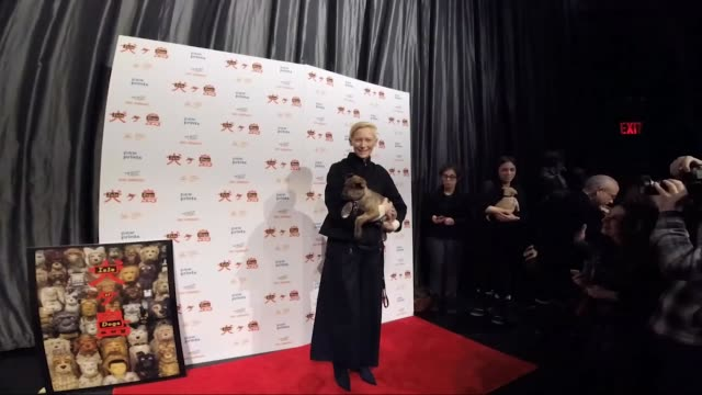 Tilda Swinton at the 'Isle Of Dogs' Special Screening at IFC Center on March 21 2018 in New York City