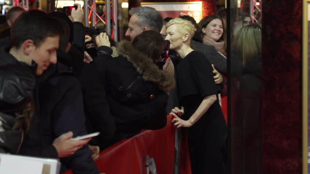 Tilda Swinton at 'The Souvenir' Red Carpet Arrivals 69th Berlin Film Festival at Zoo Palast on February 12 2019 in Berlin Germany