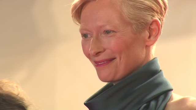 Tilda Swinton at the 'We Need To Talk About Kevin' Premiere during the 64th Cannes Film Festival at the We Need to Talk About Kevin Premiere 64th...