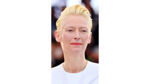 Tilda Swinton attends the photocall for The Dead Don't Die during the 72nd annual Cannes Film Festival on May 15 2019 in Cannes France