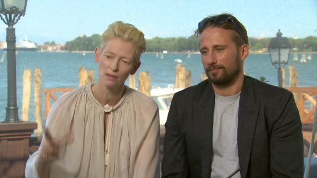 INTERVIEW Tilda Swinton on her character at 'A Bigger Splash' Interview 72nd Venice Film Festival on September 07 2015 in Venice Italy