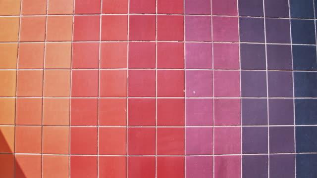 tiles - symmetry stock videos & royalty-free footage