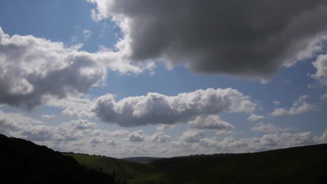 tilt down, exmoor national park aerial - exmoor national park stock videos & royalty-free footage