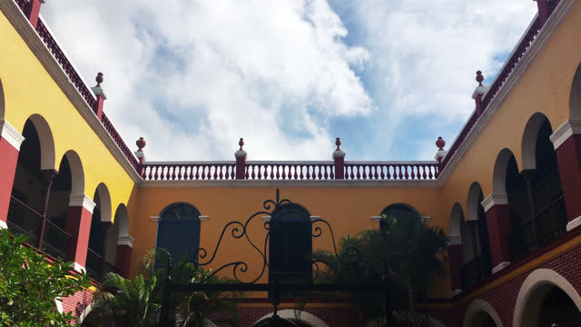 tilt down in the casa consistorial also known as la periquera on july 9, 2017; in holguin city, holguin, cuba. this colonial building is located... - local landmark stock videos & royalty-free footage