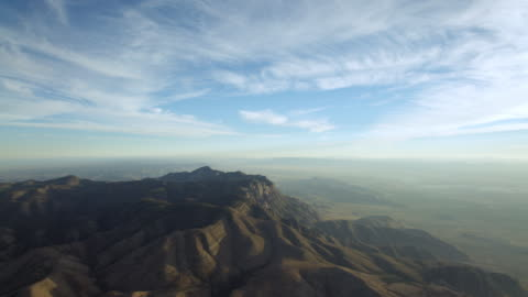 tilt down shot of mountains in guadalupe mountains national park, texas, united states of america - tilt down stock videos & royalty-free footage