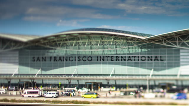 Tilt Shift Timelapse of San Francisco International Airport
