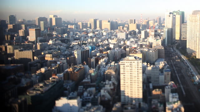 Tilt Shift Tokyo Sky Line