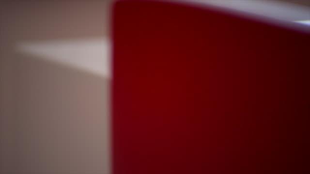 Tilt Shot of a Student Making Flash Cards