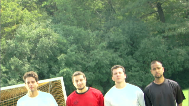tilt shot of soccer players - see other clips from this shoot 1280 stock videos & royalty-free footage