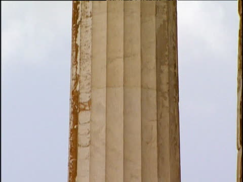 Tilt up column of Parthenon Athens