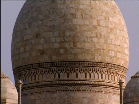 Tilt up dome roof of Taj Mahal Agra