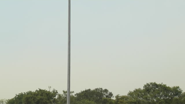 tilt up shot philippines flag post boracay philippines - philippines flag stock videos & royalty-free footage