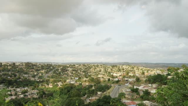 Tilt up, vast city in South Africa