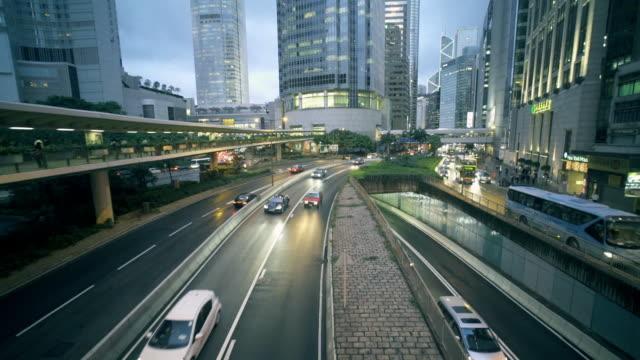 Tilt Up,Dolly shot:Hongkong Crossroad