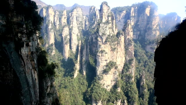 HD Tilt: Zhangjiajie National Forest Park China