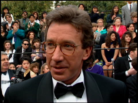 tim allen at the 1994 people's choice awards at sony studios in culver city california on march 8 1994 - tim allen stock videos and b-roll footage
