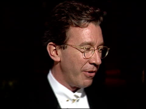 tim allen at the 1997 academy awards vanity fair party at the shrine auditorium in los angeles, california on march 24, 1997. - 69th annual academy awards stock videos & royalty-free footage