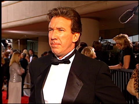 tim allen at the 1997 golden globe awards at the beverly hilton in beverly hills california on january 19 1997 - tim allen stock videos and b-roll footage