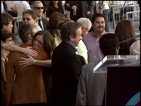 tim allen at the dedication of tim allen's hollywood walk of fame star at hollywood boulevard in hollywood california on november 19 2004 - tim allen stock videos and b-roll footage
