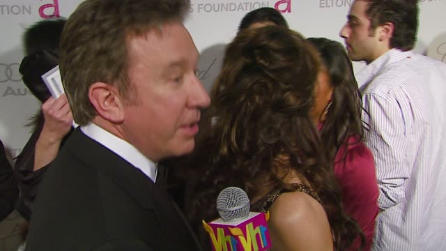 tim allen at the elton john 2007 oscar party at pacific design center in west hollywood california on february 25 2007 - tim allen stock videos and b-roll footage