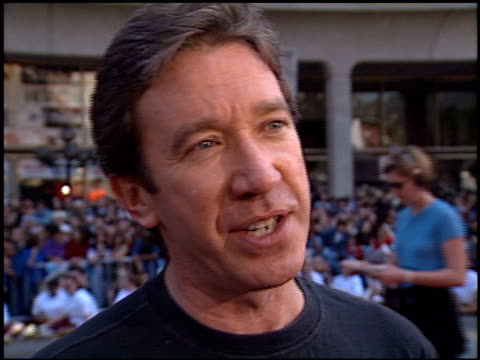 Tim Allen at the 'Grease' Premiere at Grauman's Chinese Theatre in Hollywood California on March 15 1998