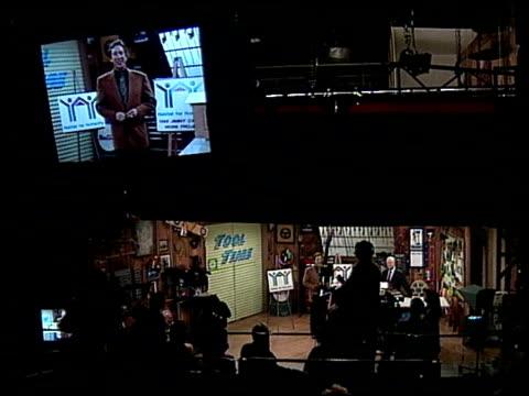 Tim Allen at the Home Improvement Hosts Jimmy Carter at Disney Studios in Burbank California on April 24 1995