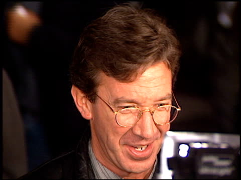 Tim Allen at the 'Ransom' Premiere on November 1 1996