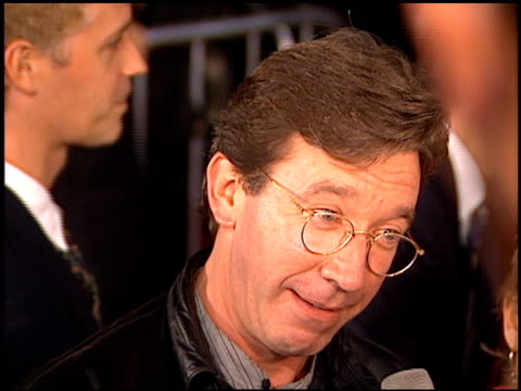 tim allen at the 'ransom' premiere on november 1 1996 - tim allen stock videos and b-roll footage
