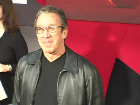 tim allen at the the incredibles premiere at el capitan theatre in los angeles, california. - el capitan theatre stock videos & royalty-free footage