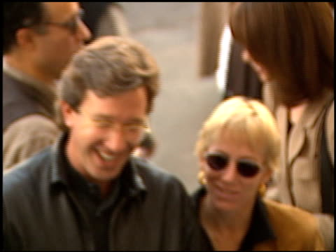 tim allen at the 'toy story' premiere at the el capitan theatre in hollywood california on november 19 1995 - tim allen stock videos and b-roll footage