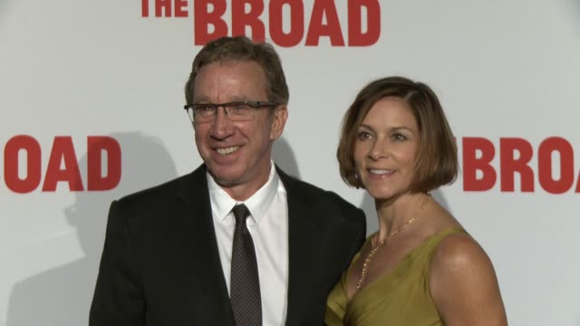 interview tim allen on being at the event the art he likes what the broad means for la and downtown la at the the broad museum inaugural celebration... - tim allen stock videos and b-roll footage