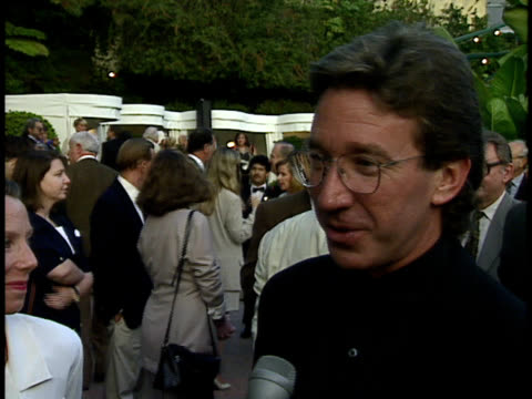 tim allen talks about his nomination - tim allen stock videos and b-roll footage