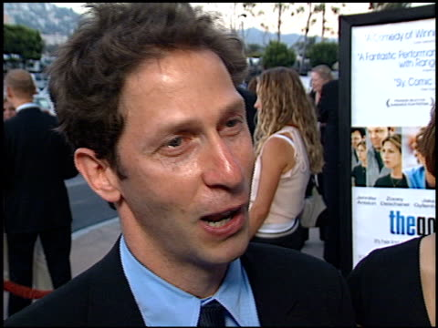 tim blake nelson at the premiere of 'the good girl' at pacific design center in west hollywood california on august 7 2002 - pacific design center stock videos and b-roll footage