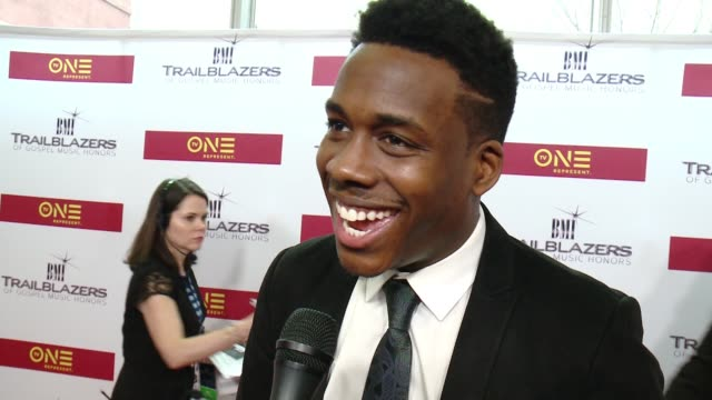 INTERVIEW – Tim Bowman Jr says Marvin Sapp is from his home town and growing up on his music at BMI Trailblazers of Gospel Music at Rialto Center for...