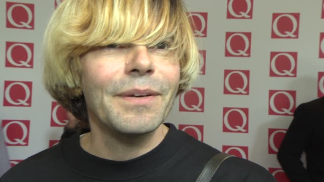 INTERVIEW Tim Burgess on the Jon Brookes tribute gig being at the awards at Q Awards 2013 at The Grosvenor House Hotel on October 21 2013 in London...