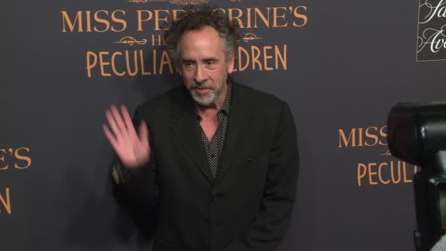 Tim Burton at Miss Peregrine's Home For Peculiar Children New York Premiere at Saks Fifth Avenue on September 26 2016 in New York City