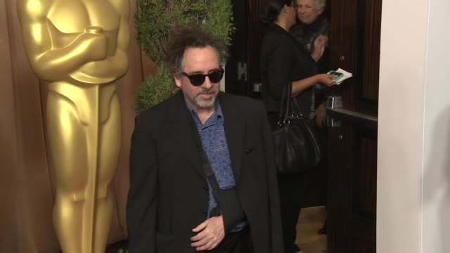 Tim Burton at the 85th Academy Awards Nominations Luncheon in Beverly Hills CA on 2/4/13