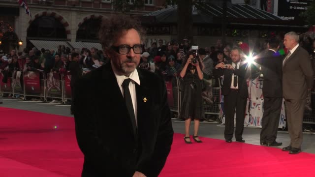 Frankenweenie Premiere BFI 56th London Film Festival Tim Burton at Odeon Leicester Square on October 10 2012 in London England