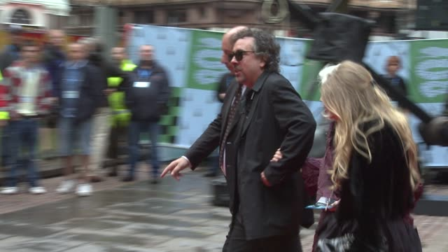 Tim Burton at the Harry Potter And The HalfBlood Prince at London England