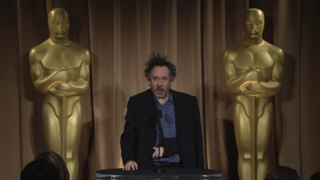 INTERVIEW Tim Burton on being at the event at the 85th Academy Awards Nominations Luncheon in Beverly Hills CA on 2/4/13
