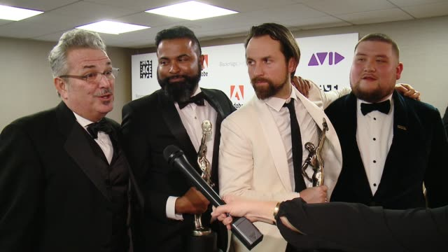 INTERVIEW Tim Clancy Cameron Dennis John Chimples Denny Thomas on what does this award mean to them at 68th Annual ACE Eddie Awards in Los Angeles CA