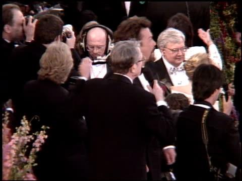 vídeos y material grabado en eventos de stock de tim curry at the 1995 academy awards arrivals at the shrine auditorium in los angeles california on march 27 1995 - 67ª ceremonia de entrega de los óscars