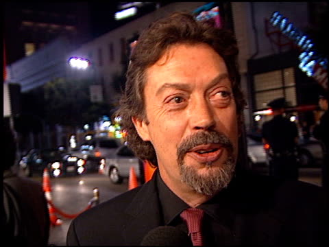 Tim Curry at the 'Charlie's Angels' Premiere at Grauman's Chinese Theatre in Hollywood California on October 22 2000